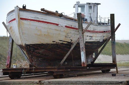 Fishing Boat, Denmark, North Sea, Ship, Scandinavia