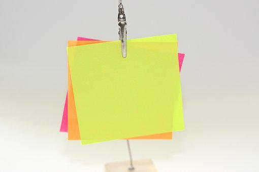 Sticky Notes, Notes, Messages, Contact, Office