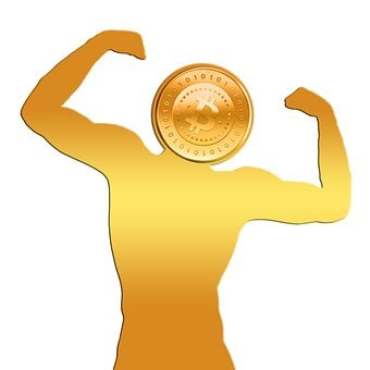 Bitcoin, Coin, Strength, Forward, Money