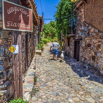 Cyprus, Fikardou, Village, Architecture, Traditional