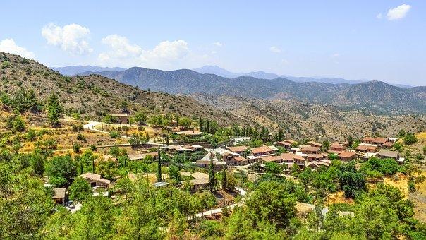 Cyprus, Fikardou, Village, Medieval, World Heritage