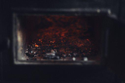 Old, Stove, Hot, Fire, Flame