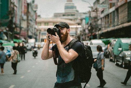 People, Man, Guy, Photographer, Millenials, Camera