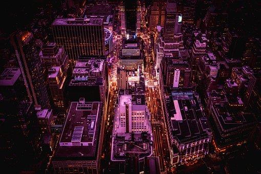 New York City, Manhattan, Buildings, Skyscrapers