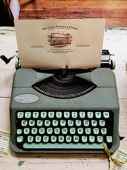 Typewriter, Teal, Hermes, Rocket, Oblation, Papers