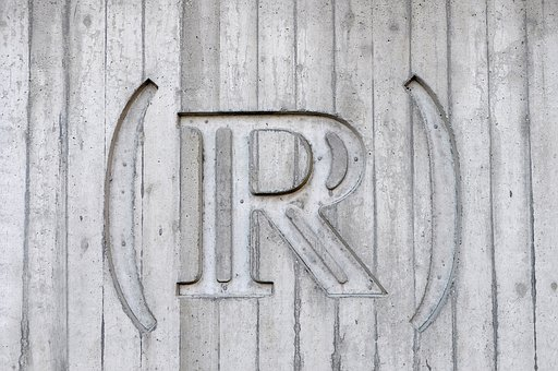 Wood, Wall, R, Engraving, Art, Sign