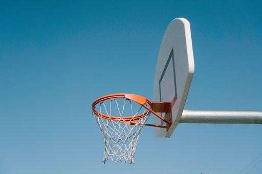 Sports, Basketball, Hoops, Ring, Sky