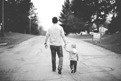 People, Man, Father, Baby, Boy, Kid, Child, Walking