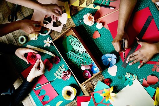 Lifestyle, Working, Arts, Crafts, Handicrafts, Flowers