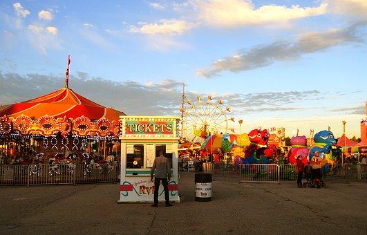 Carnival, Festival, Carousel, Festive, Event, Fun