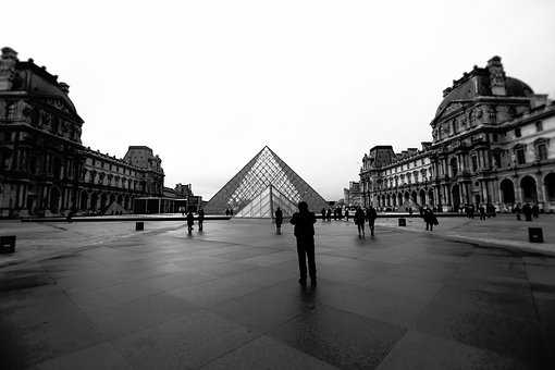 People, Places, Landmark, Structure, Louvre, Museum