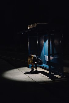 Light, Places, People, Girl, Woman, Heels, Transit