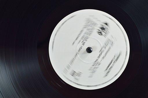 Recording, Old, Sound, Vinyl, Music, Tag, Disk, Black