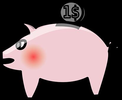 Penny Bank, Money Box, Piggy Bank, Coins, Financing