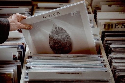 Store, Collection, People, Hand, Vinyls, Roo