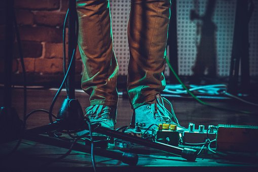 Shoe, Footwear, Concert, Effects, Sound, Electronic