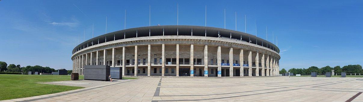 Olympic Stadium, Berlin, Panorama