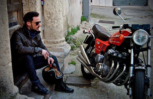 Biker, Benelli, 750, Six, Moto, Motorcycles, Freedom