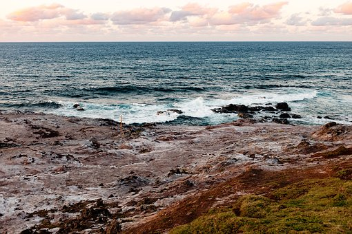 Sea, Ocean, Blue, Water, Waves, Beach, Coast, Shore