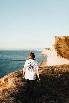 Water, Ocean, Sea, Beach, Sand, Rock, Current, Waves