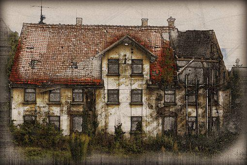 Ruin, Old House, Decay, Old, Building, Lapsed