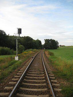 Gleise, Seemed, Train, Death, Exit, Infinity
