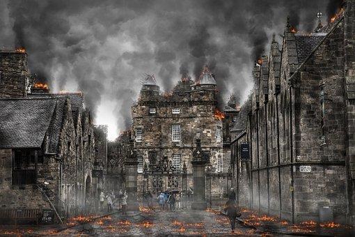 Armageddon, War, Apocalypse, Destruction, Explosion
