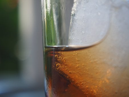 Glass, Cola, Ice Cubes, Ice, Drink, Thirst, Refreshment