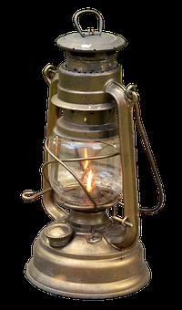 Kerosene Lamp, Lamp, Light, Lantern, Lighting