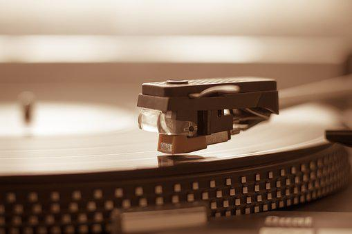 Turntable, Needle, Vinyl, Spinning, Record