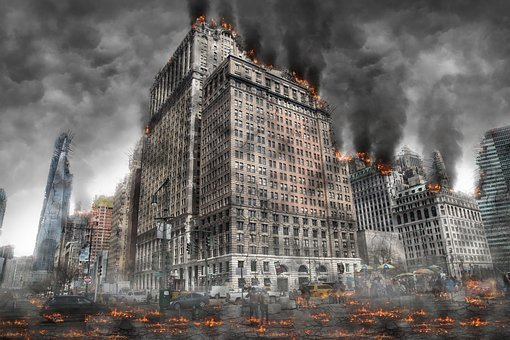 World War, Armageddon, Destruction, Nuclear, Apocalypse