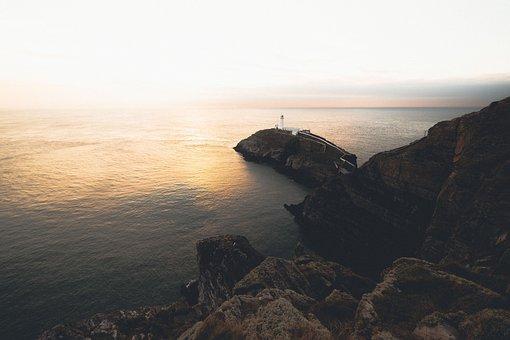 Adventure, Water, Ocean, Sea, Beach, Rock, Current