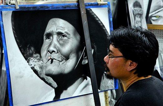 Artist, Drawing, Pencil, Artistic, Draw, Hand, Sketch