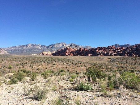 Red Rock, Arid, Desert, Sky, Landscape, Rock, Canyon