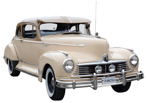 Hudson, Oldtimer, 40ziger Years, Old Car, Isolated