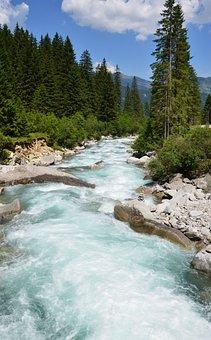 Krimml Waterfalls, Nature, Water, Austria, Krimml