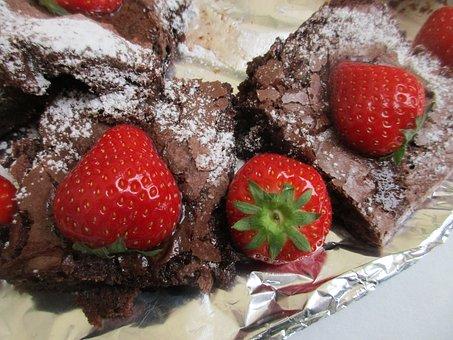 Cake, Brownie, Cookies, Fudge, Birthday, Celebration