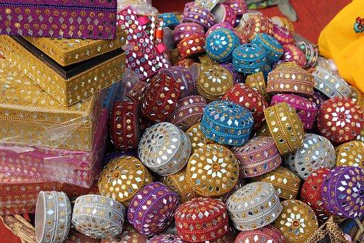 Jewellery Box, Delhi, Street Shop, Lajpat Nagar, Indian