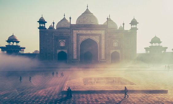 Taj, Mahal, India, Tourist, Destination, Architecture