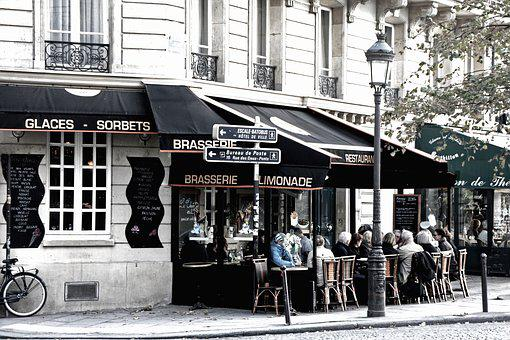 Paris, Cafe, France, Downtown, City Life, Nostalgic