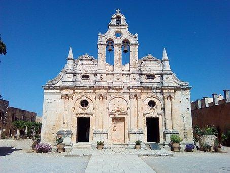 Monastery, Greece, Chalk