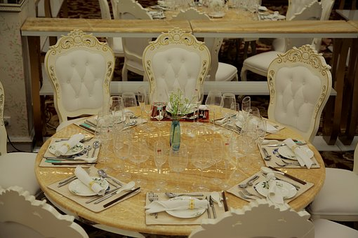 High-grade, Tableware, Roundtable, Continental