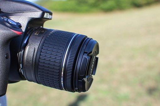 Camera, Slr Camera, Lens, Nikon, Nikkor