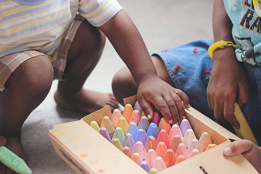 People, Kid, Child, African American, Box, Colorful