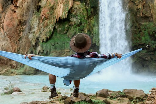 People, Man, Chill, Relax, Hammock, Nature, Landscape