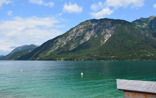Achensee, Pertisau, Austria, Tyrolean Alps, Tyrol