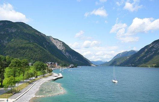 Achensee, Pertisau, Tyrol, Austria, Tyrolean Alps
