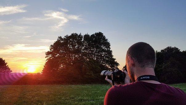 Photographer, Sun, Rudice