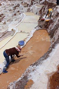 Peru, Salt Chambers, Salt, Salt Mining, Salinas, Saline
