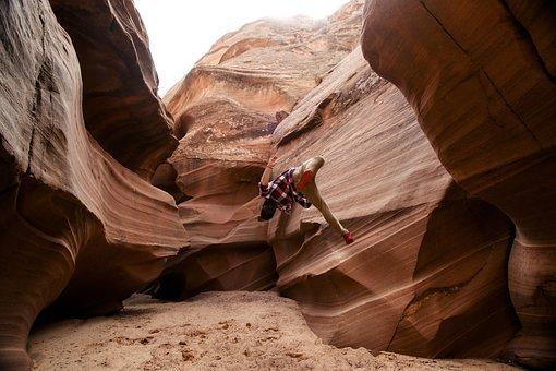 Nature, People, Man, Exhibition, Cave, Sand, Rock